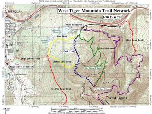 tiger trail map
