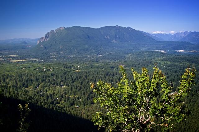 Mt. Si  taken from Rattlesnake Ledge